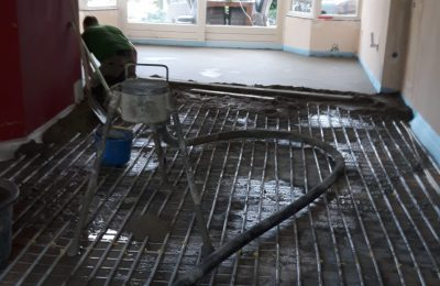 Cementdekvloer Leende