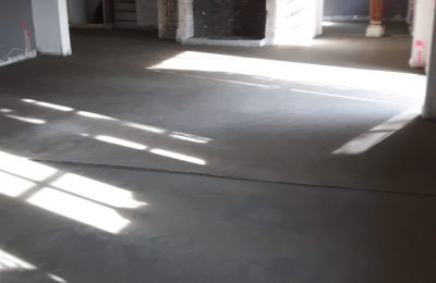 Cementdekvloer te Helmond